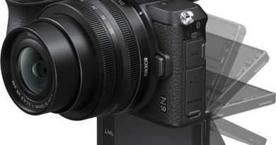 Nikon Z 50 Mirrorless Digital Camera with 180 degree flip screen