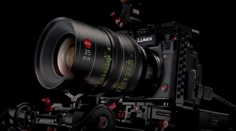 Panasonic Lumix S1H Netflix certified mirrorless camera