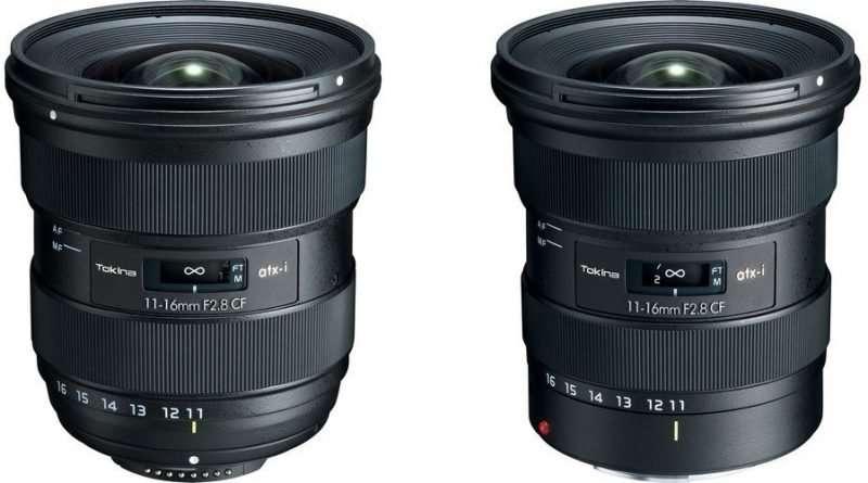 Tokina atx-i zoom lens for canon and nikon APS-C DSLR cameras