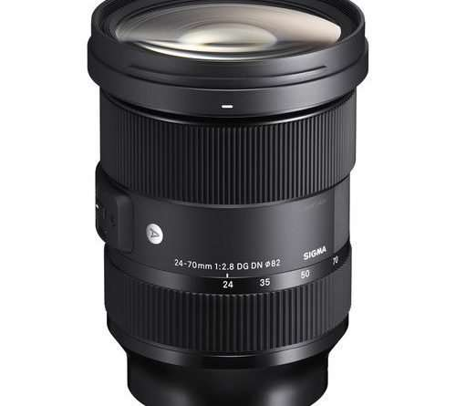 Sigma 24-70mm f/2.8 DG DN Art Lens for Leica L and Sony E mount full frame mirrorless cameras