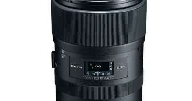 Tokina atx-i 100mm F2-8 FF MACRO lens for Canon EF and Nikon F full frame DSLR and APS-Ccameras