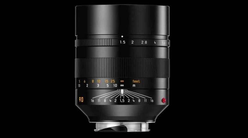 Leica Summilux-M 90mm f/1.5 ASPH M-mount lens