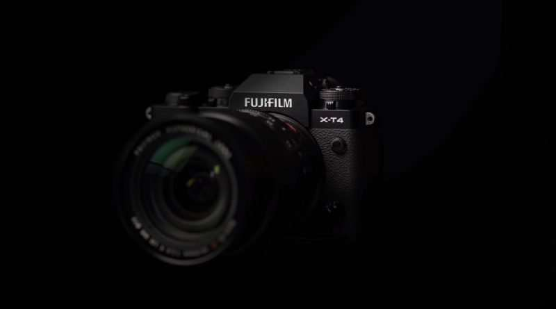 Fujifilm X-T4 Mirrorless camera with APS-C X-Trans BSI CMOS 4 Sensor & X-Processor 4 Image Processor and fastest burst frame rate