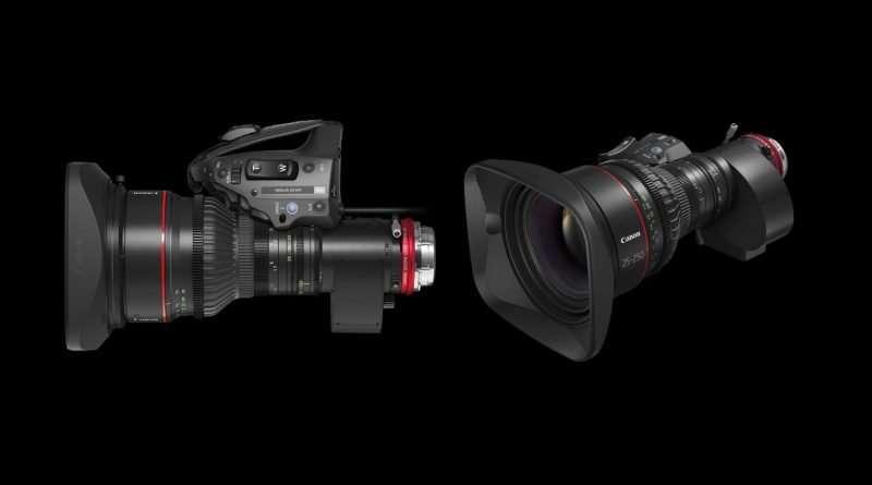 Canon 25-250 cine servo T2.95-3.95 new Cinema Lens