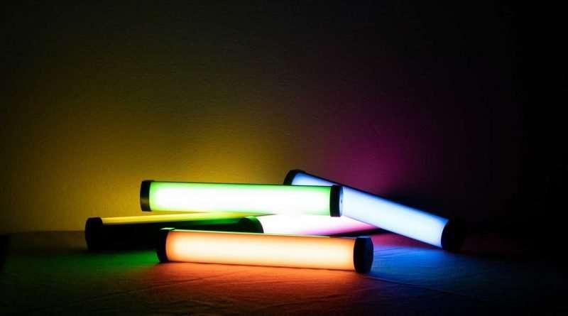 "Nanlite Pavotube II 6C 10"" 6W RGBWW LED portable Tube light with internal battery"