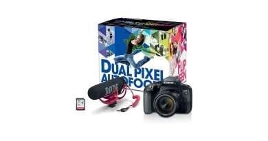 Canon Eos Rebel T7i video creator kit - Best beginner cameras for youtube
