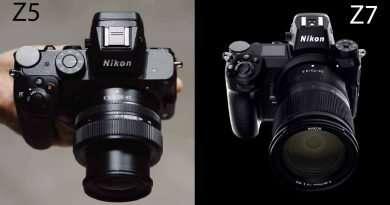 Nikon Z5 vs Z7 comparison | Similarities and differences