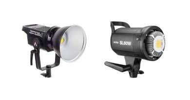 Aputure C120D II vs Godox SL60W LED Comparison
