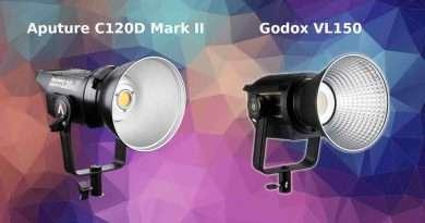 Aputure LS C120D II vs Godox VL150 - LED Comparison