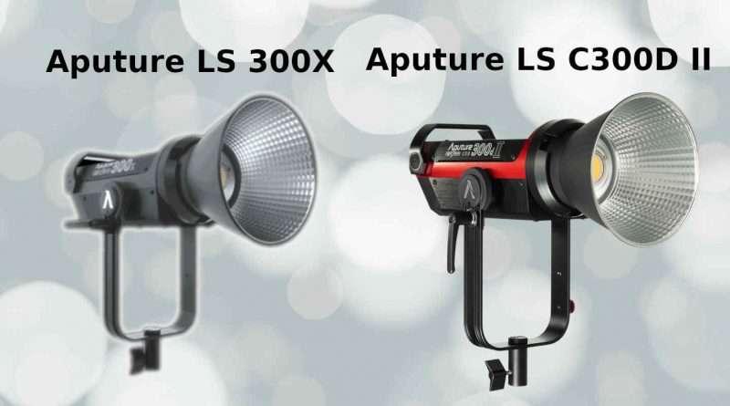 Aputure Lightstorm LS 300X vs LS C300D II | Comparison
