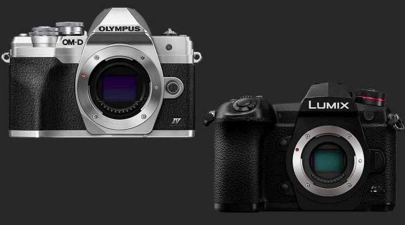 Olympus OM-D E-M10 Mark IV vs Panasonic Lumix G9 - Comparison