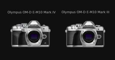 Olympus OM-D E-M10 Mark IV vs Mark III - Comparison
