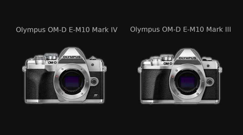 Olympus OM-D E-M10 Mark IV vs Mark III - Comparison